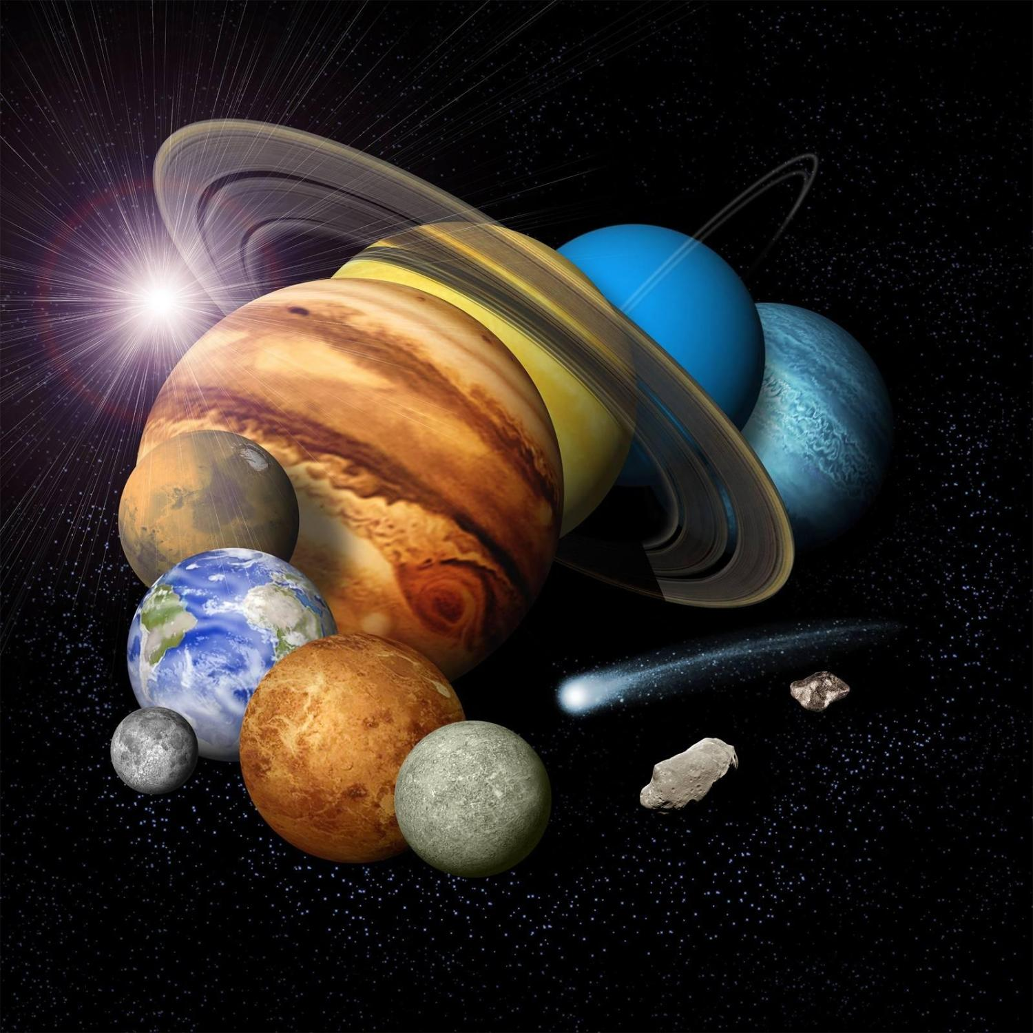 Nasa sails full speed ahead in solar system exploration montage of planets credit nasajpl sciox Choice Image