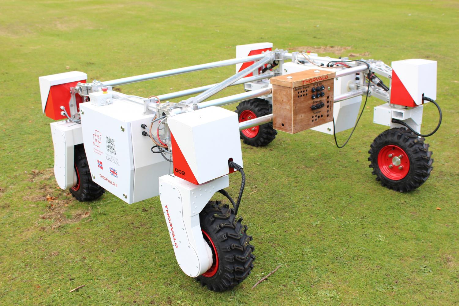 New Mobile Robot To Support Agri Tech Experiments In The Field