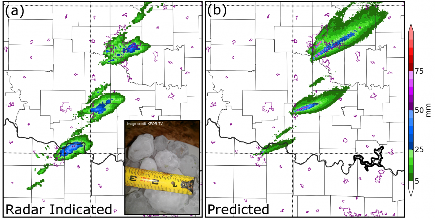 Predicting Severe Hail Storms Network Computing Services