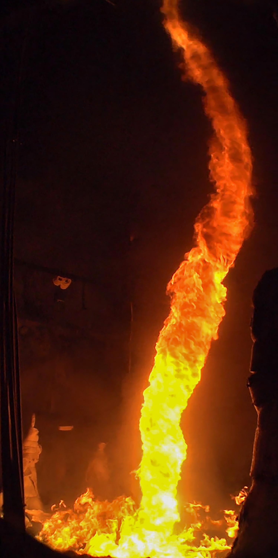 sandia dial a fire test complex ignites huge blaze
