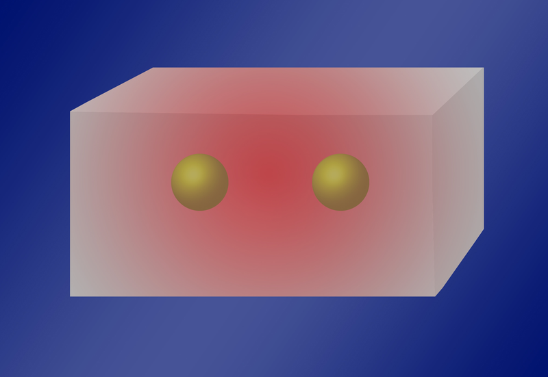 Simulations show a single photon can simultaneously excite two atoms