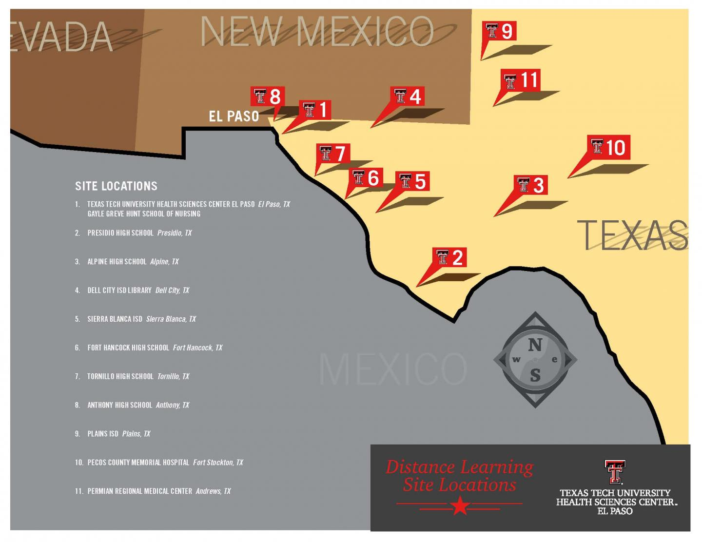 TTUHSC El Paso to provide health education to West Texas