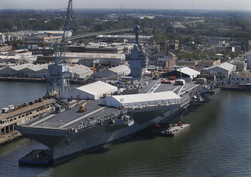 U S Oriskany Aircraft Carrier Artificial Reef Photo