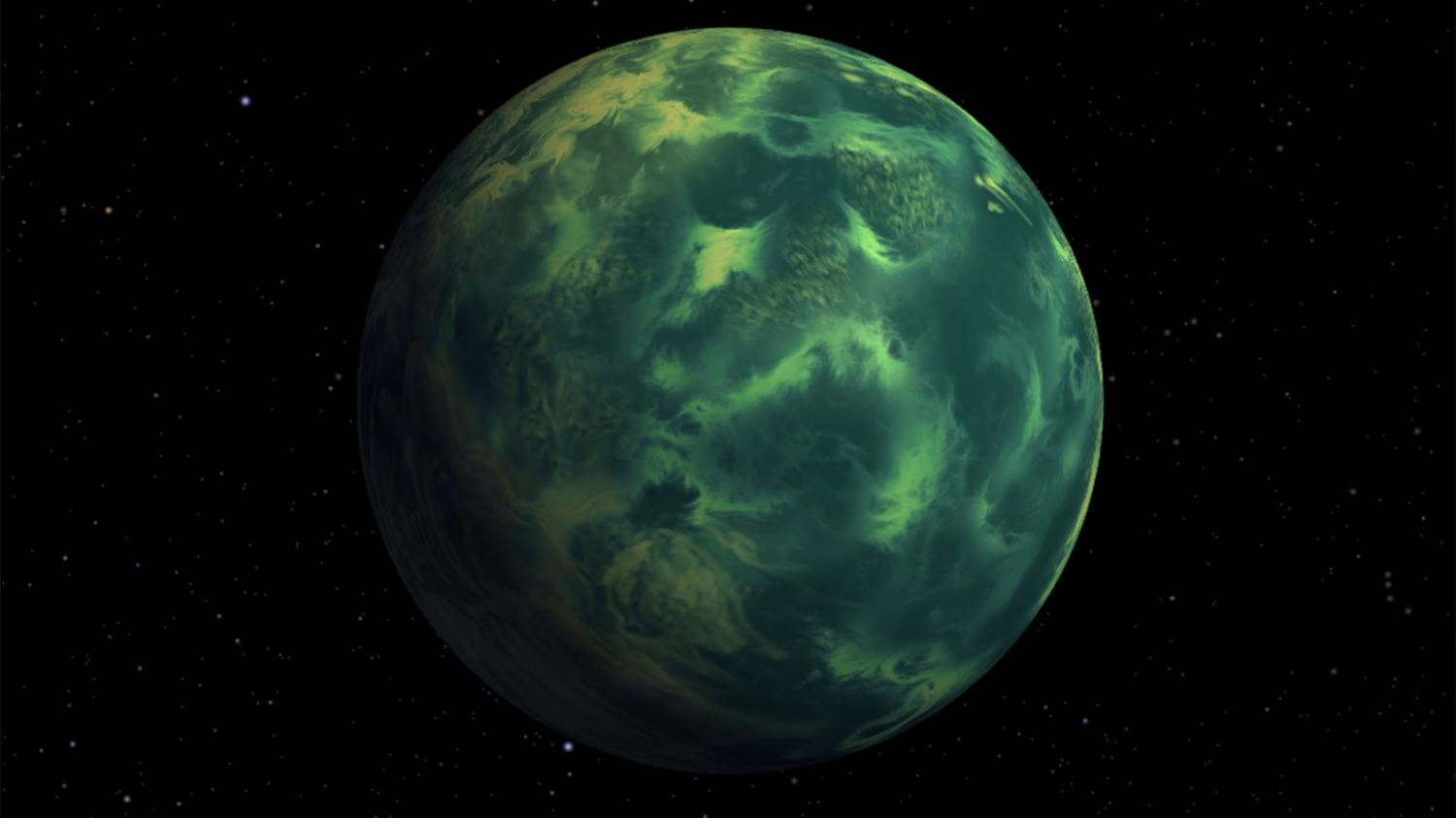 Could Earth's Light Blue Color Be A Signature Of Life?