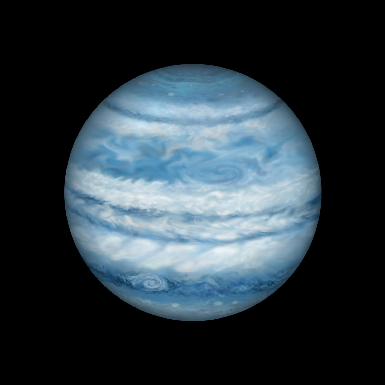 blue giant planet - photo #18