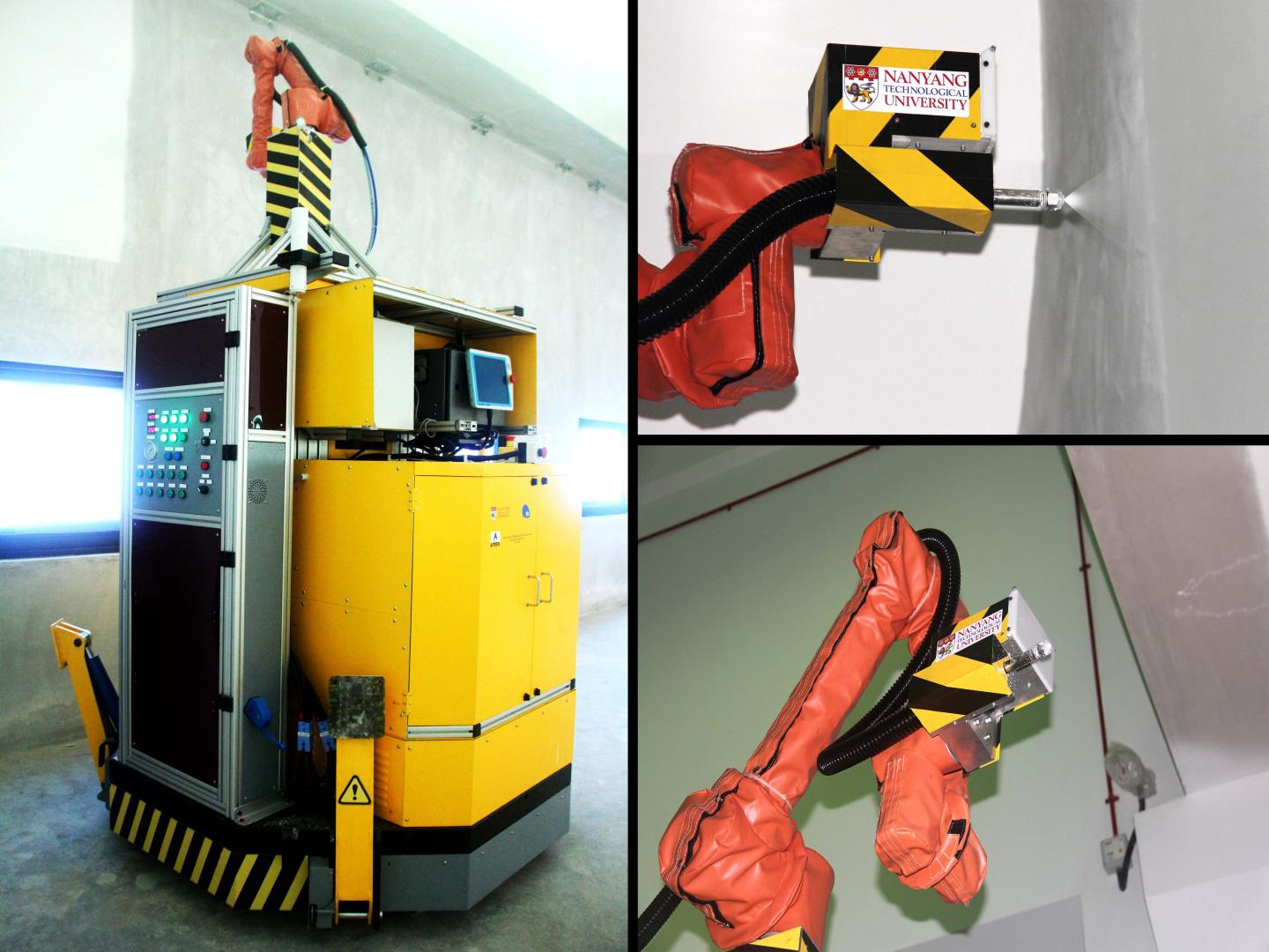Ntu singapore 39 s robot to spray paint jtc 39 s industrial for Spray paint safety