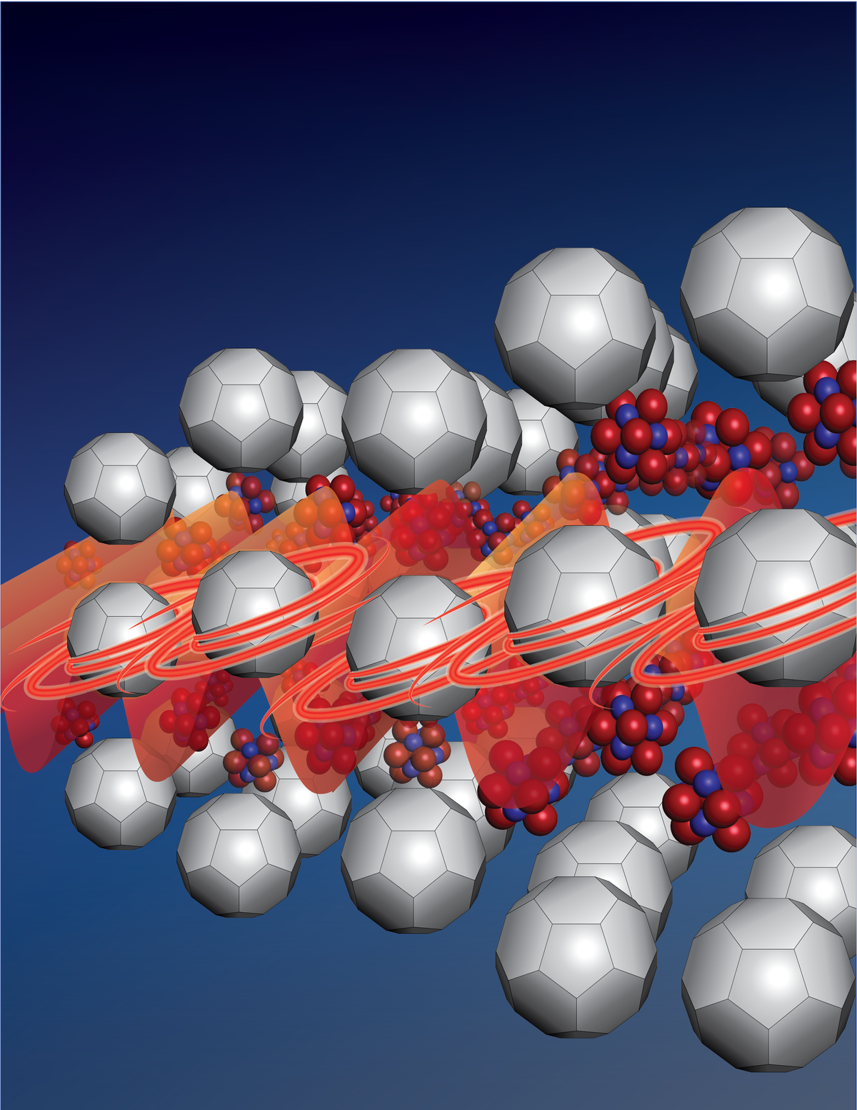 Researchers discover the cause of vastly different thermal conductivities in superatomic structural analogues
