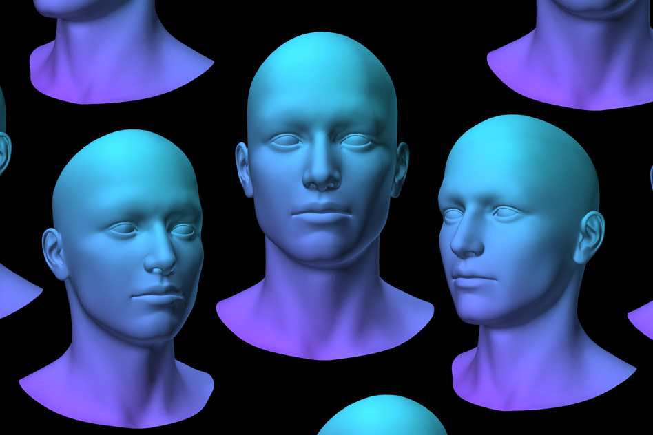 Картинки по запросу Code for Facial Identity in the Primate Brain