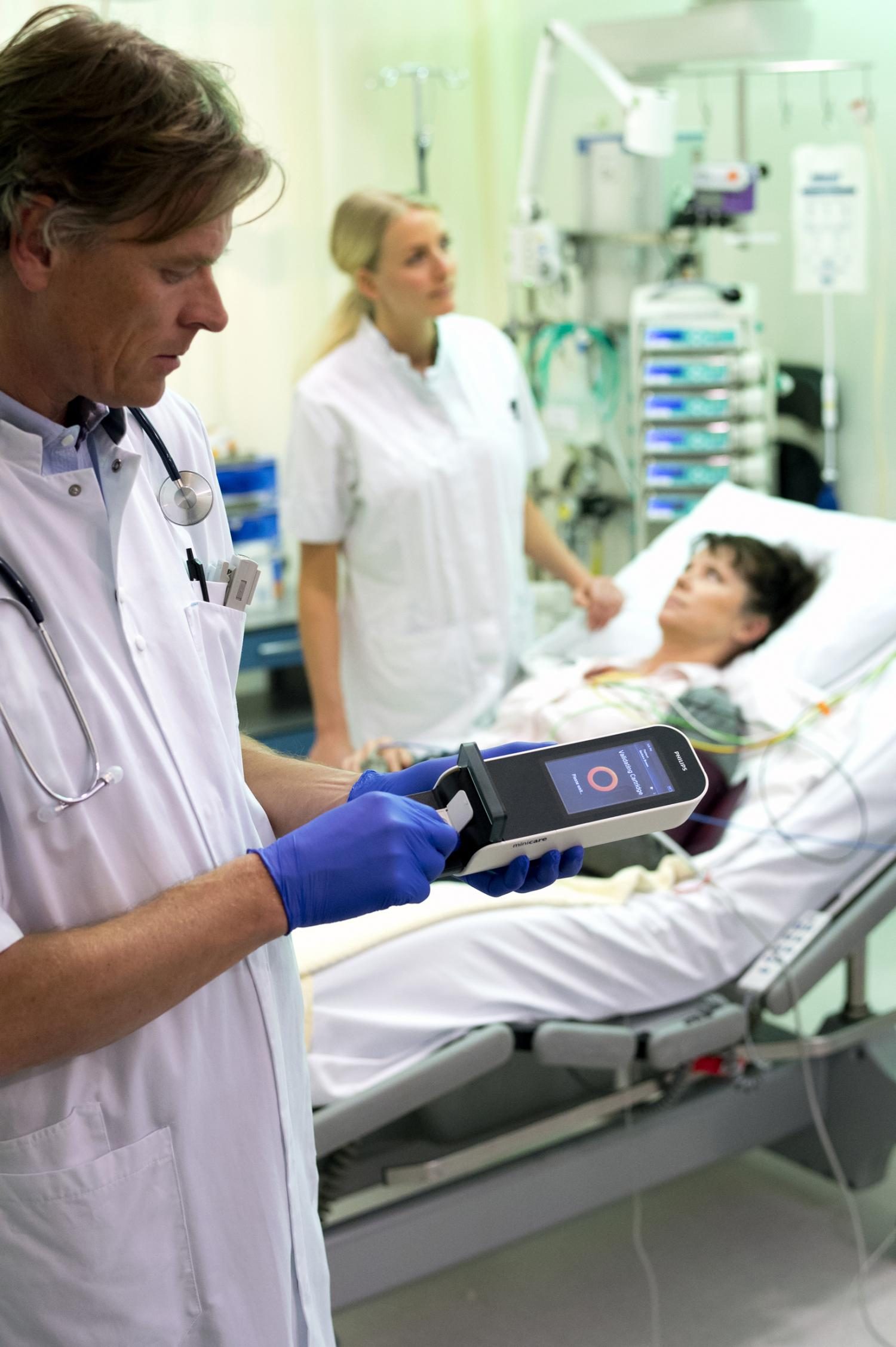 Philips launches new handheld blood test for rapid point ...