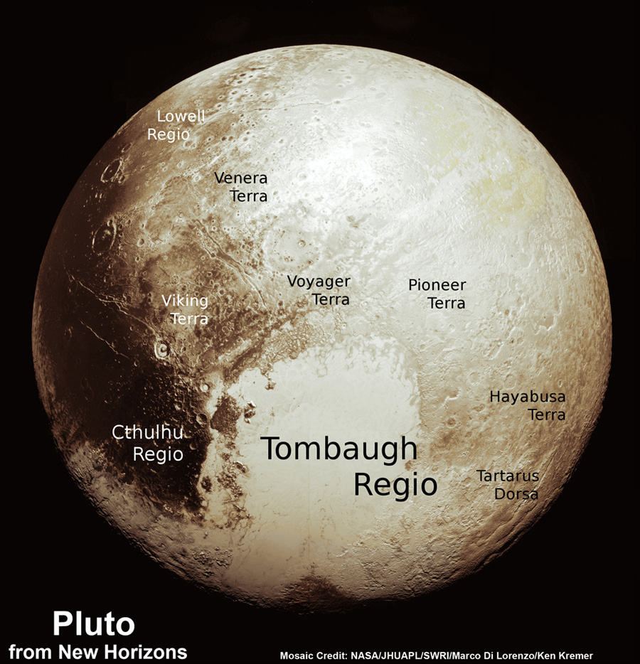 assemble fresh global map of pluto prising sharpest flyby images