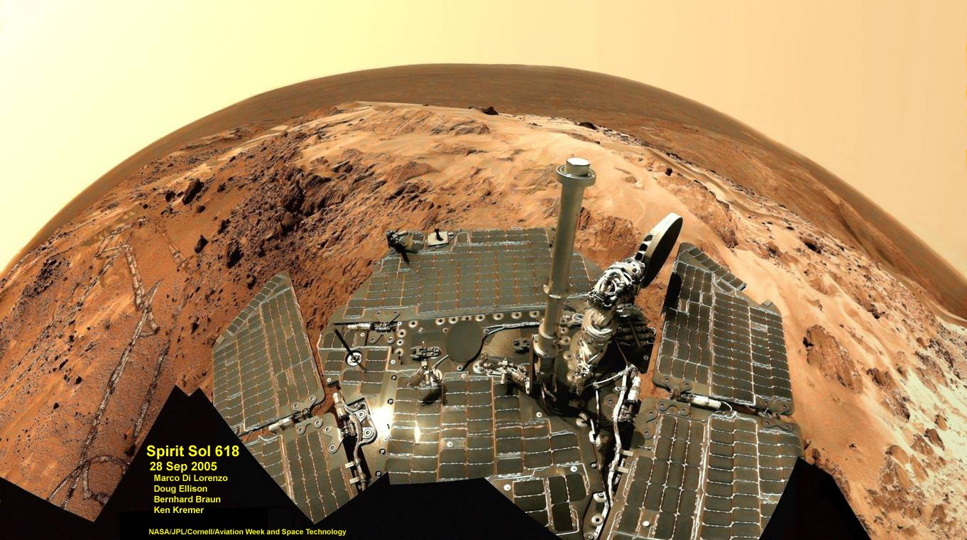 mars rover spirit - photo #19
