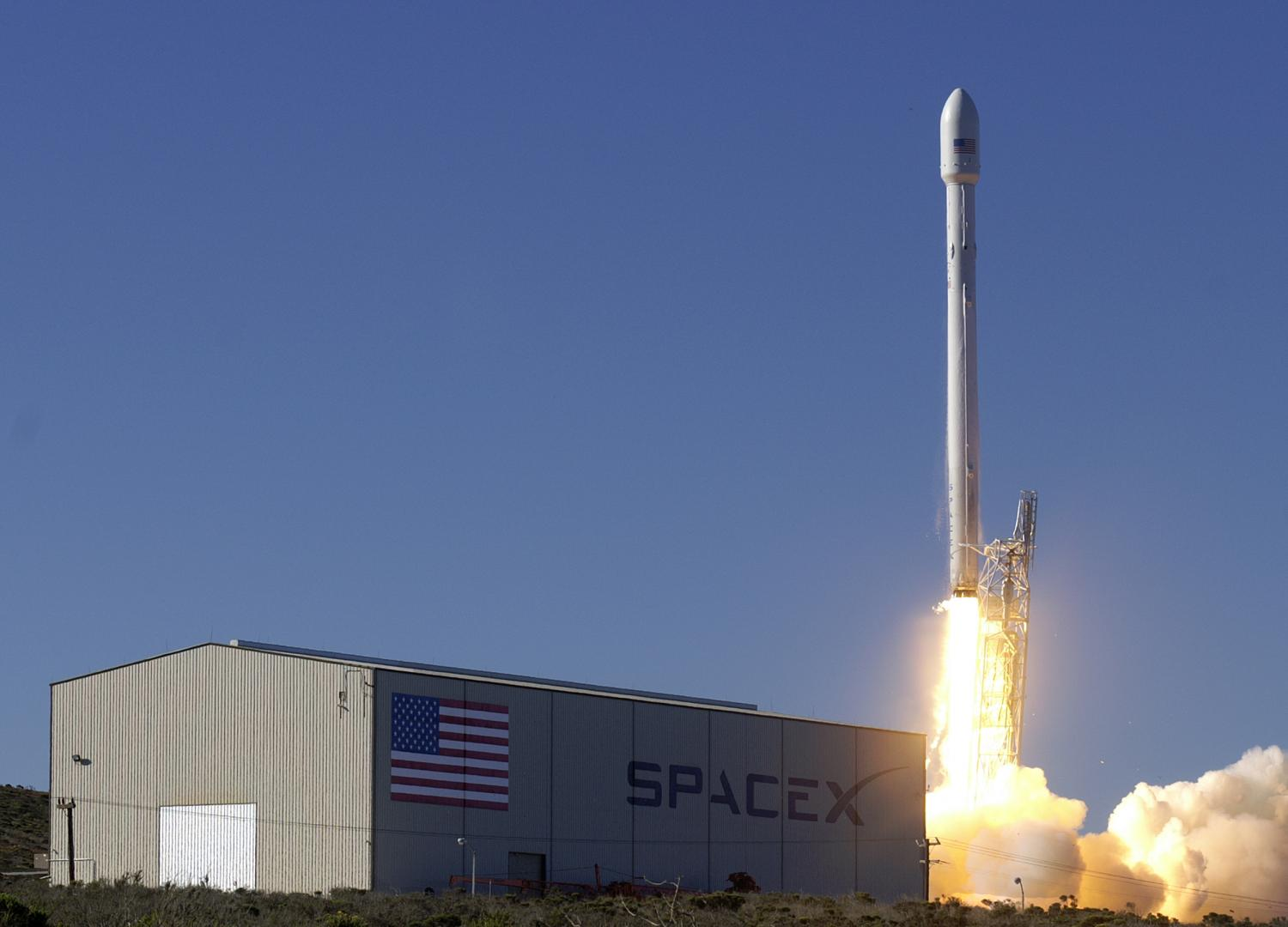Image result for SpaceX to try Falcon 9 rocket landing for the first time