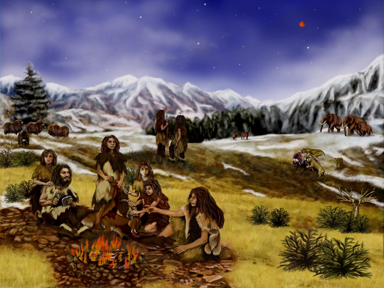 the life of the neandertals Life at the edge iolo's natural history of wales with the ice age's warm phase, neanderthal man moved into wales, then the fringe of the human world.