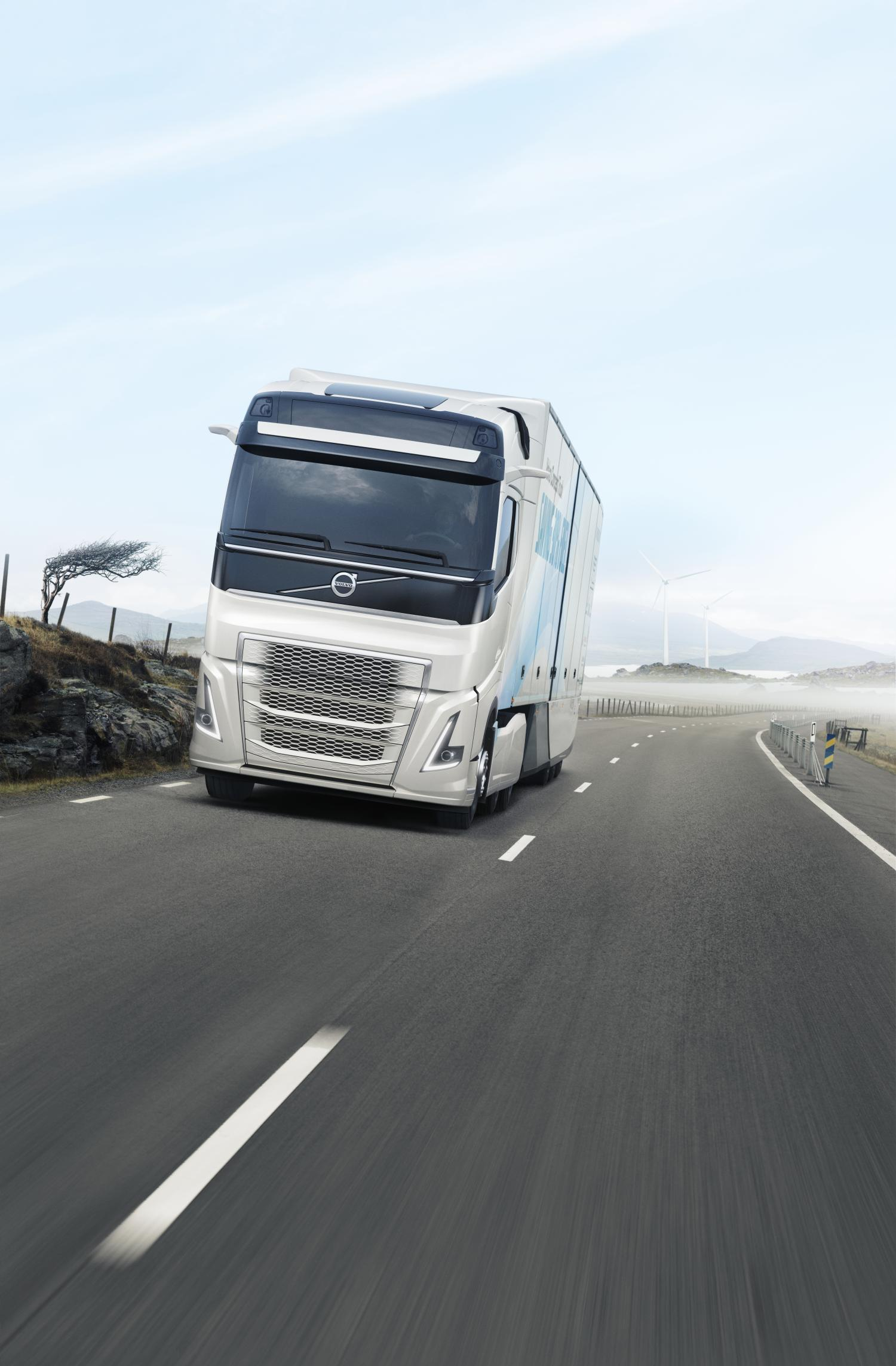 Volvo Trucks' New Concept Truck Cuts Fuel Consumption By