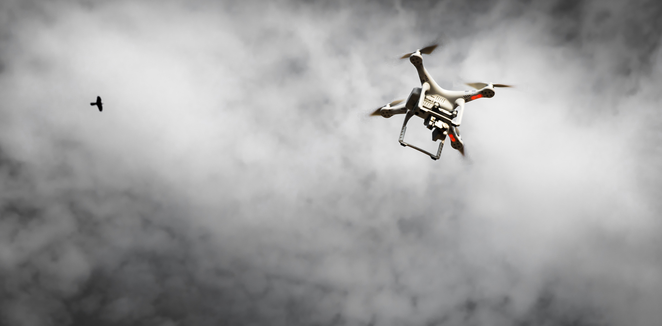 drones really dangerous to airplanes