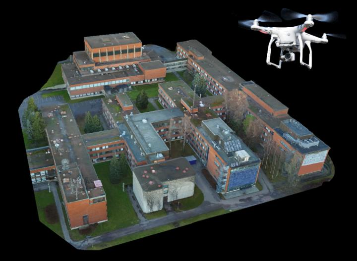 By Using Both The Aerial Photographs Taken Drone And Photogrammetry Software Researchers Were Able To Create Highly Detailed 3 D Models Of Urban