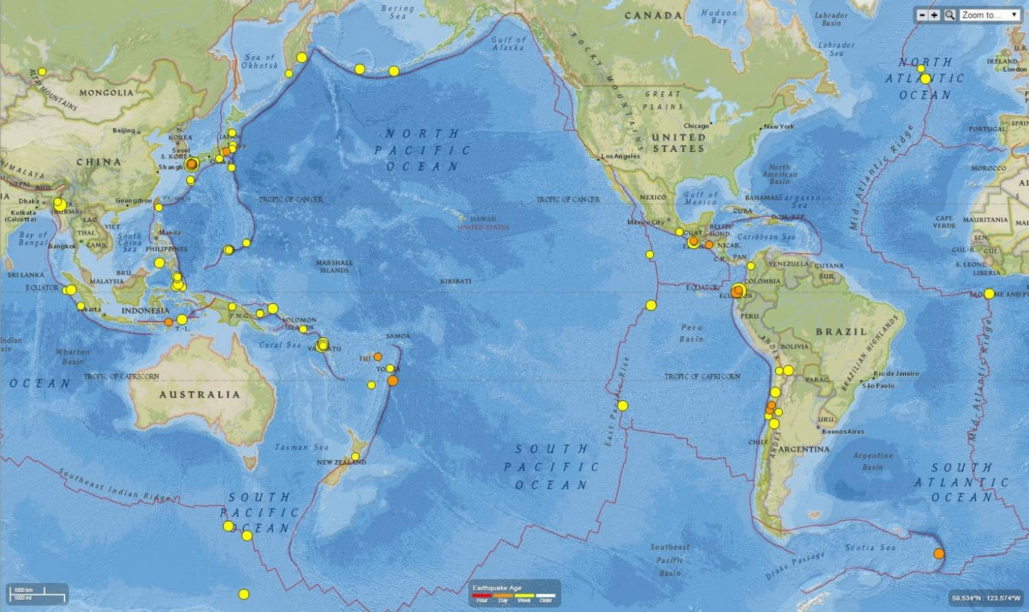 Are the japanese and ecuador earthquakes related gumiabroncs Choice Image