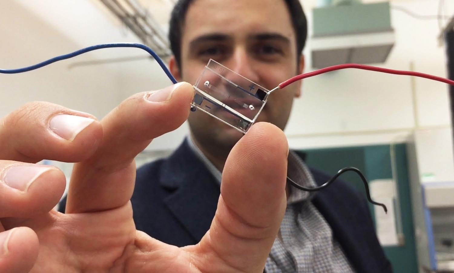 Cellphone Principles Help Microfluidic Chip Digitize Information On Telecom Hybrid Circuits For Other Equipments Than Telephones Living Cells