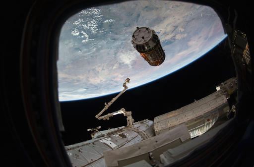 Christmas delivery at space station, courtesy of Japan