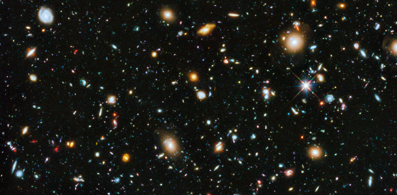 A look at the stars and galaxies