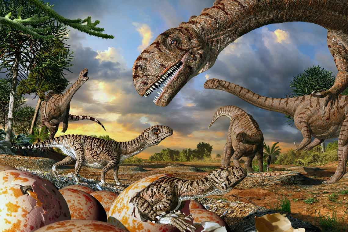 Artist interpretation shows 190-million-year-old nests 3276a562fa95