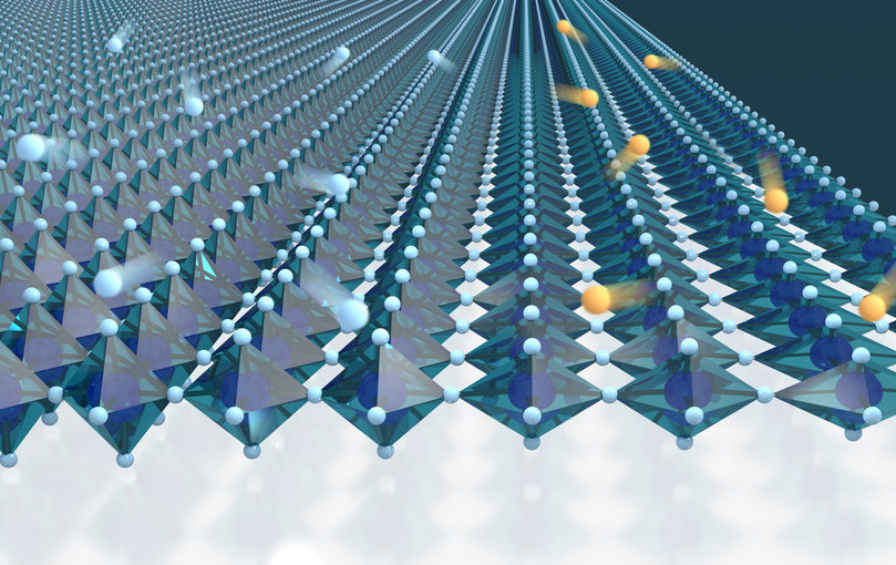 Electrical properties of superconductor altered by 'stretching'