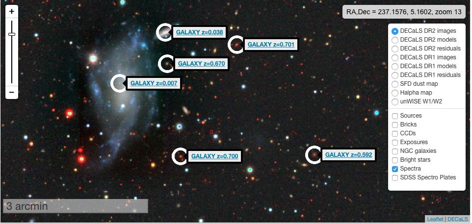 Explore Galaxies Far Far Away At Internet Speeds - Interactive sky map