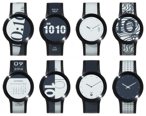 Sony FES Watch U: New Smartwatch with E-Ink Display