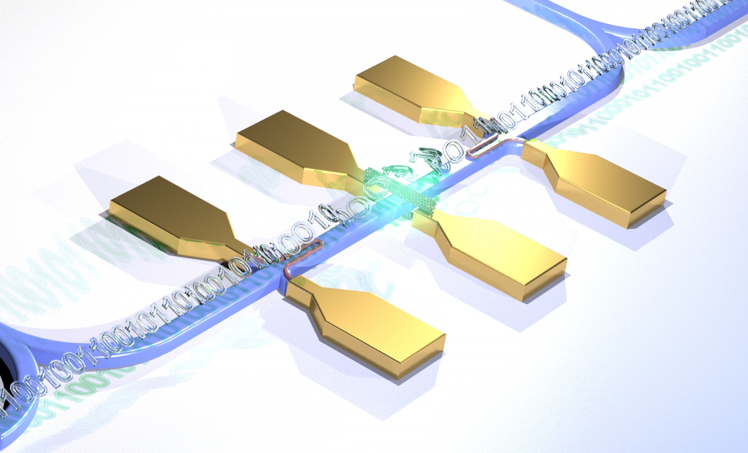 first quantum photonic circuit with an electrically driven