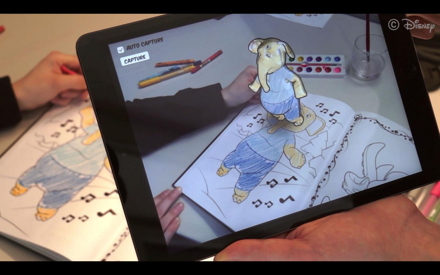 Researchers At Disney Research Zurich And ETH Bring Characters From Coloring Books To Life Credit