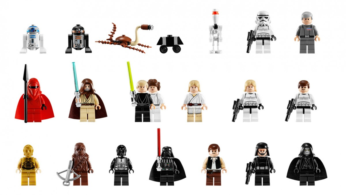 Star Wars Characters Toys : Have lego toys become more violent over time