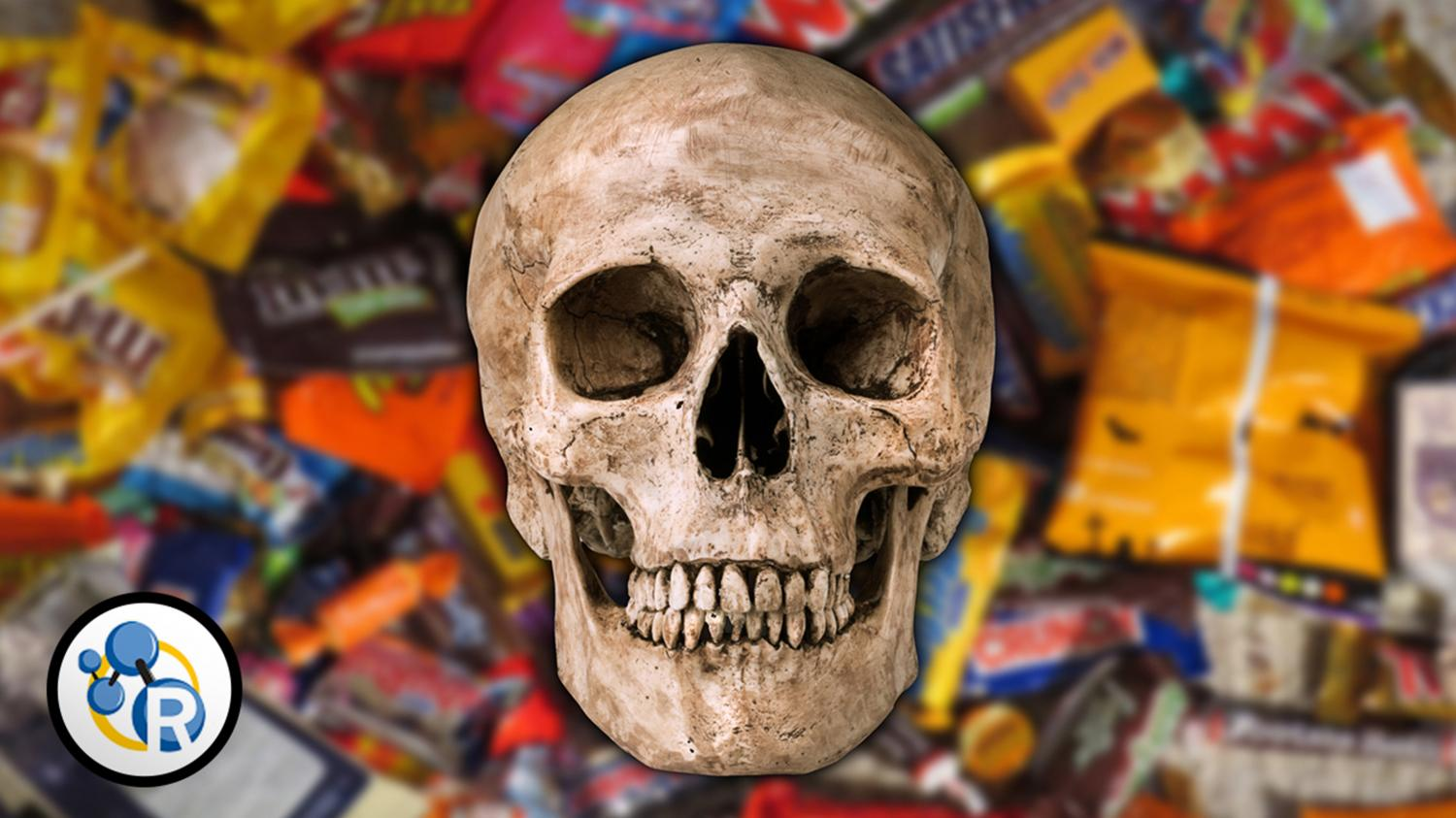 video: how much halloween candy would kill you?