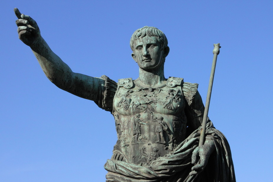 a history and achievements of augustus octavian a roman emperor