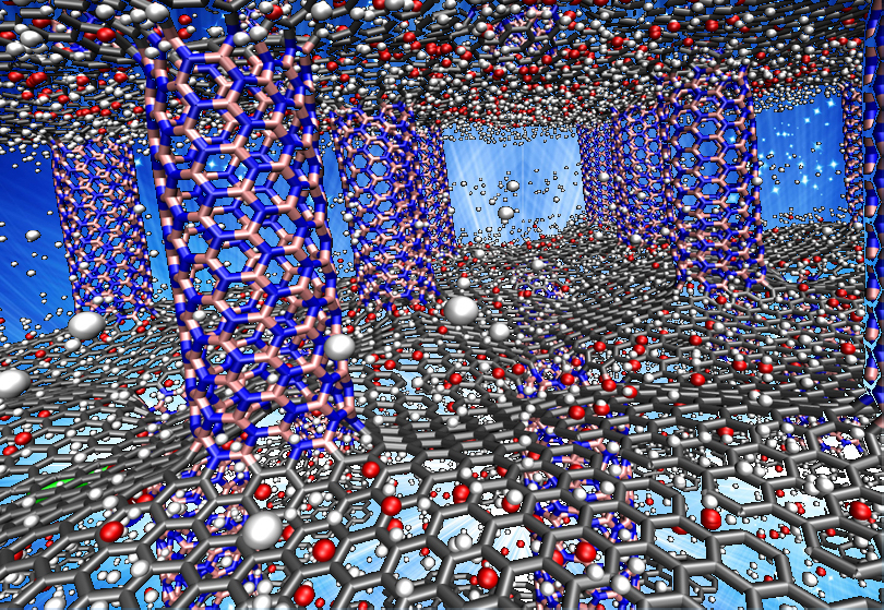 Scientists say boron nitride-graphene hybrid may be right for next-gen green cars