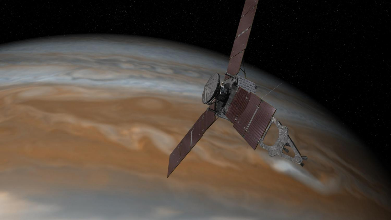 Juno spacecraft crosses Jupiter / Sun gravitational boundary