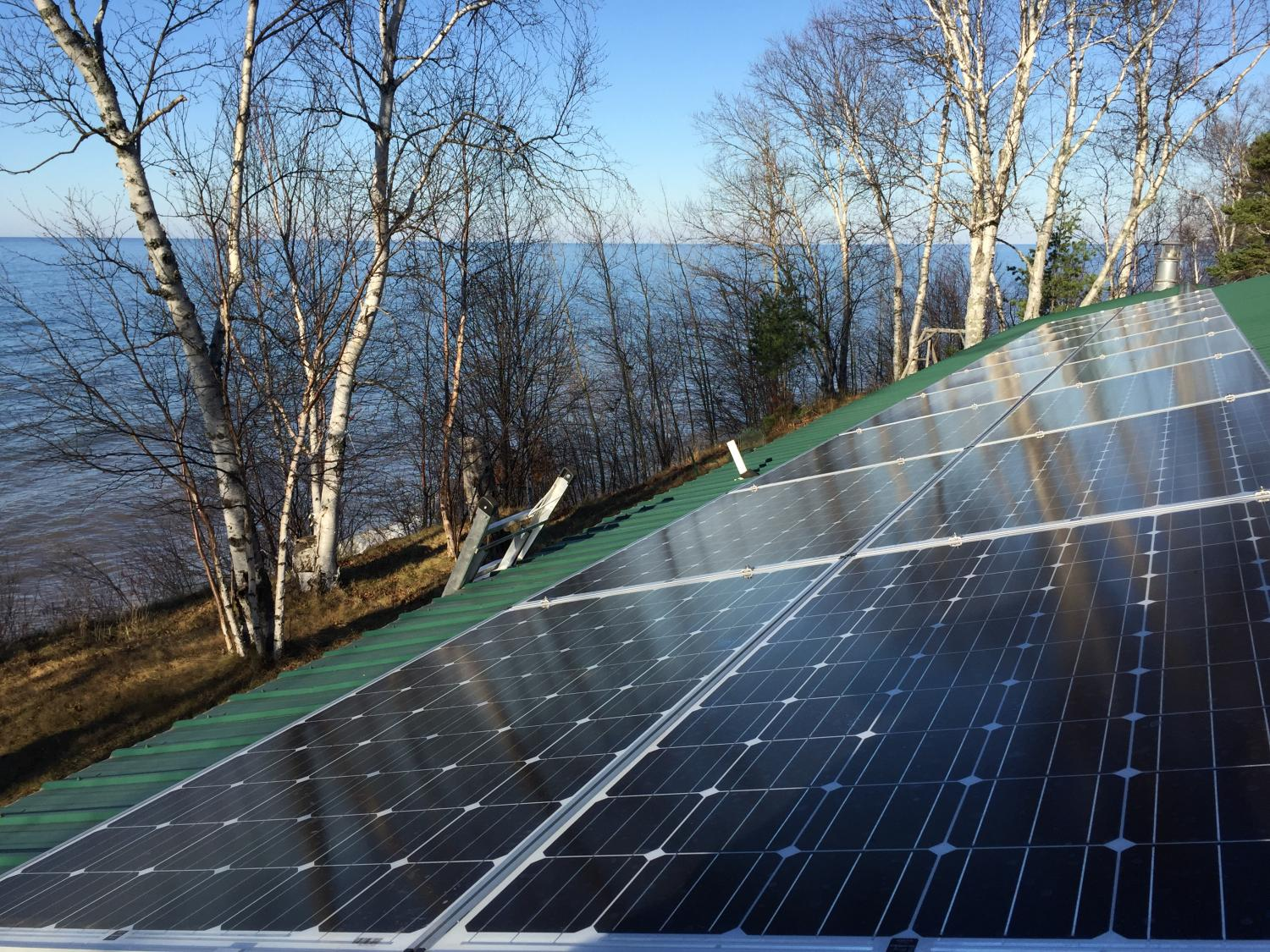 Leaving The Electrical Grid In Upper Peninsula Solar Panel System Wiring Diagram Offgrid Power Systems