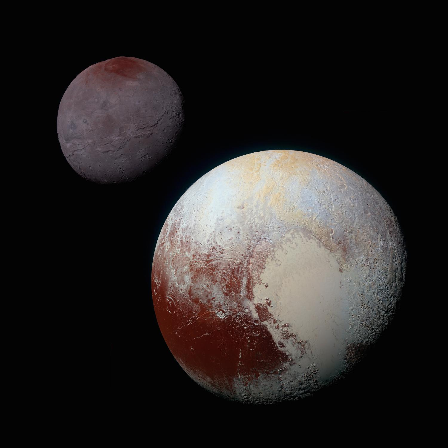 Image result for pluto false color