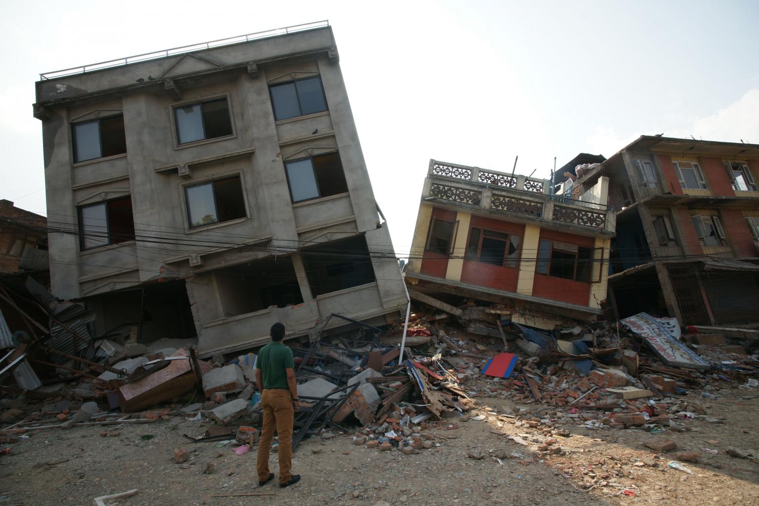 research paper earthquakes buildings in kathmandu damaged by the gorkha earthquake credit roger bilham cires phys org