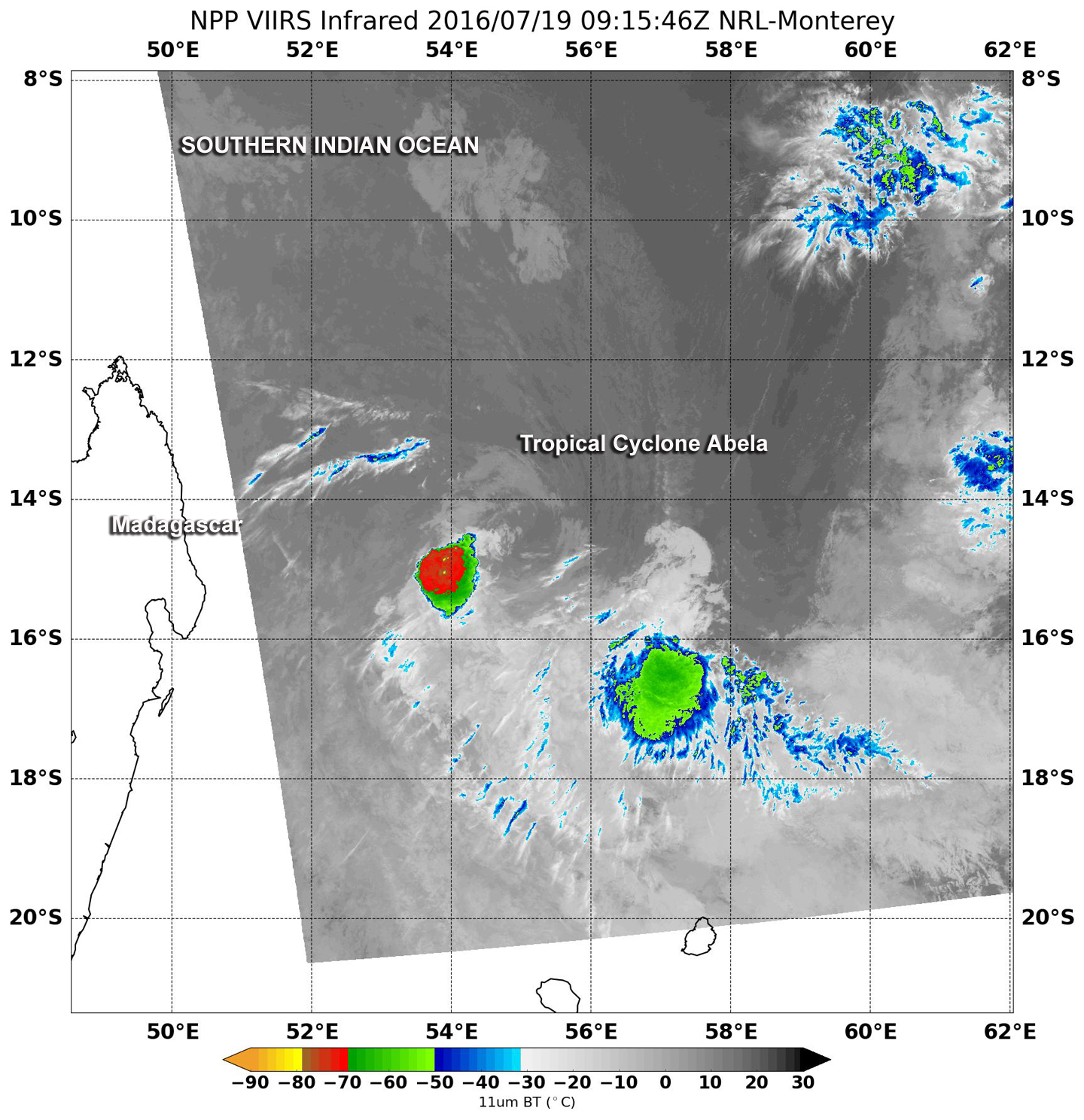 sees two areas of strength in a weakening tropical cyclone abela nasa sees two areas of strength in a weakening tropical cyclone abela