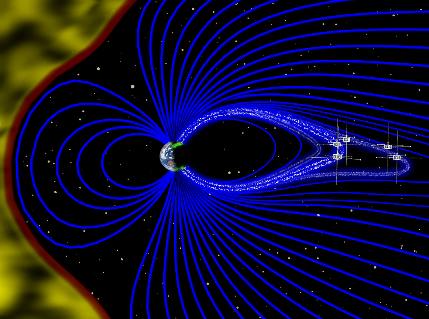 Themis Sees Auroras Move To The Rhythm Of Earth S Magnetic