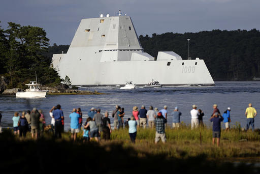 Navyu0027s Futuristic Destroyer Makes Port Call In Rhode Island