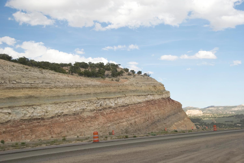 Outcrop Of Carmel Formation In Utahu0027s San Rafael Swell, USA