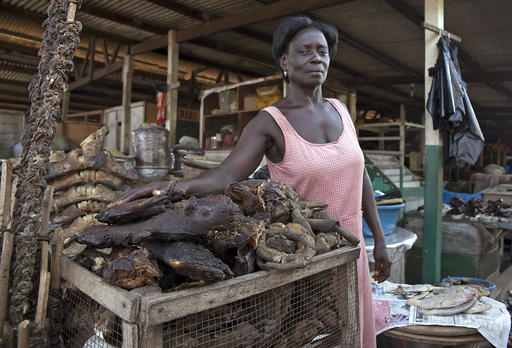 Post Ebola West Africans Flock Back To Bush Meat With Risk