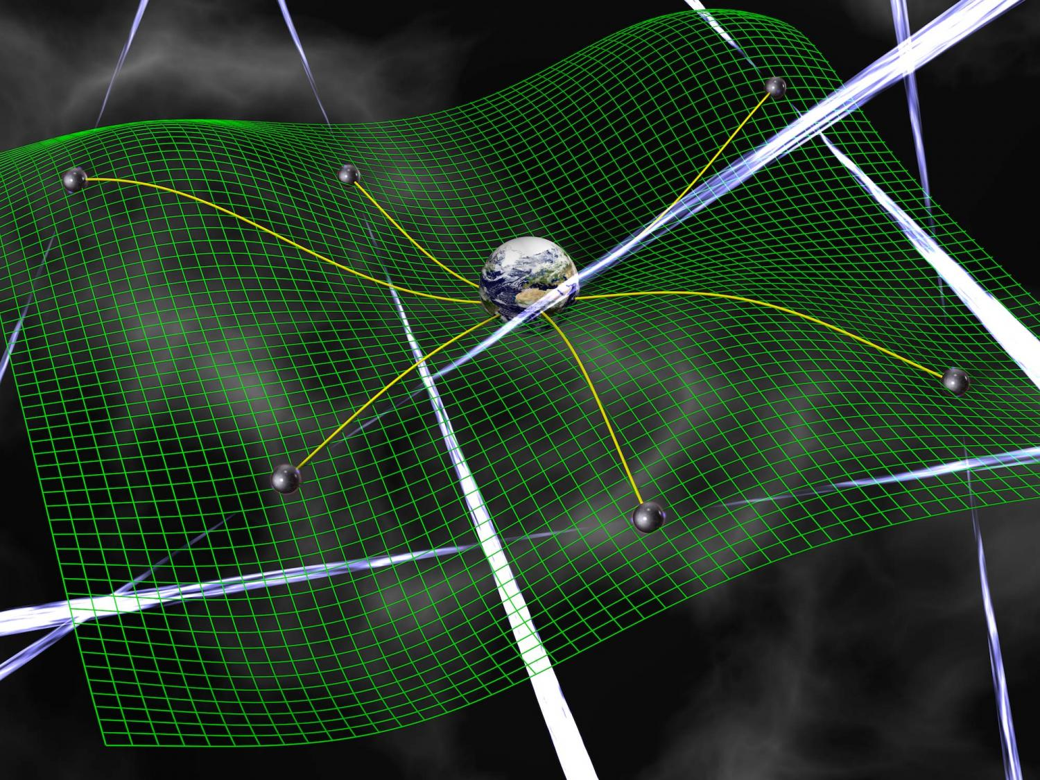 Pulsar web could detect low-frequency gravitational waves