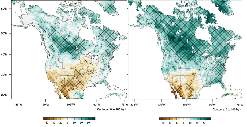 Raincloud Computing Researchers Work To Improve How We Predict - Climate change projections us map