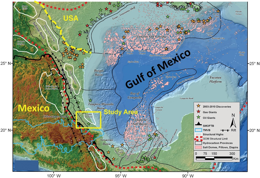 Research offers new evidence about the Gulf of Mexicos past