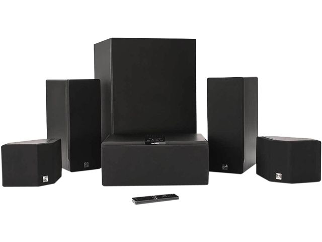 review cinehome offers great home theater sound without wires rh phys org Subwoofer Box Design Car Subwoofer Wiring
