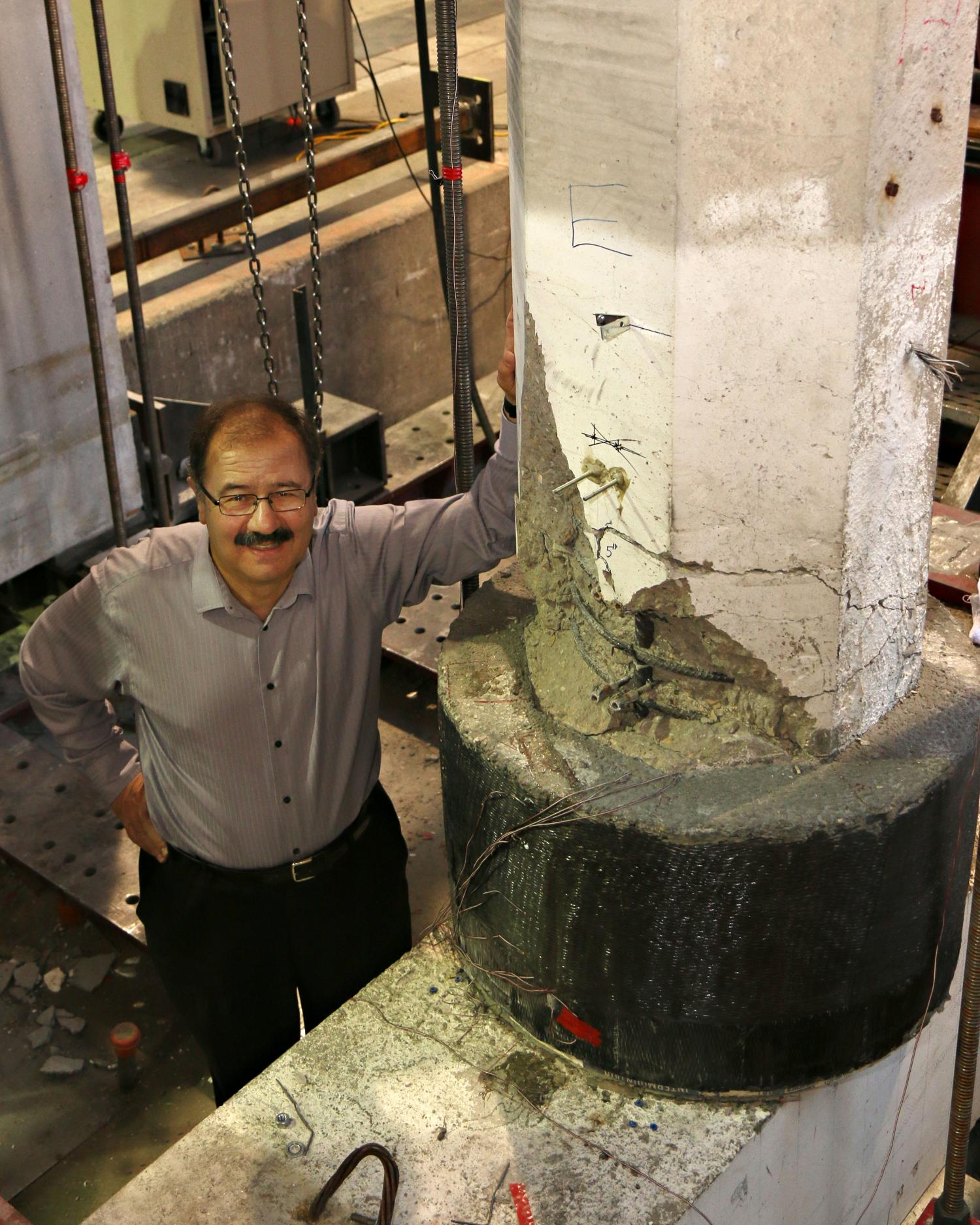 Engineers Develop Process To Repair Earthquake Damaged