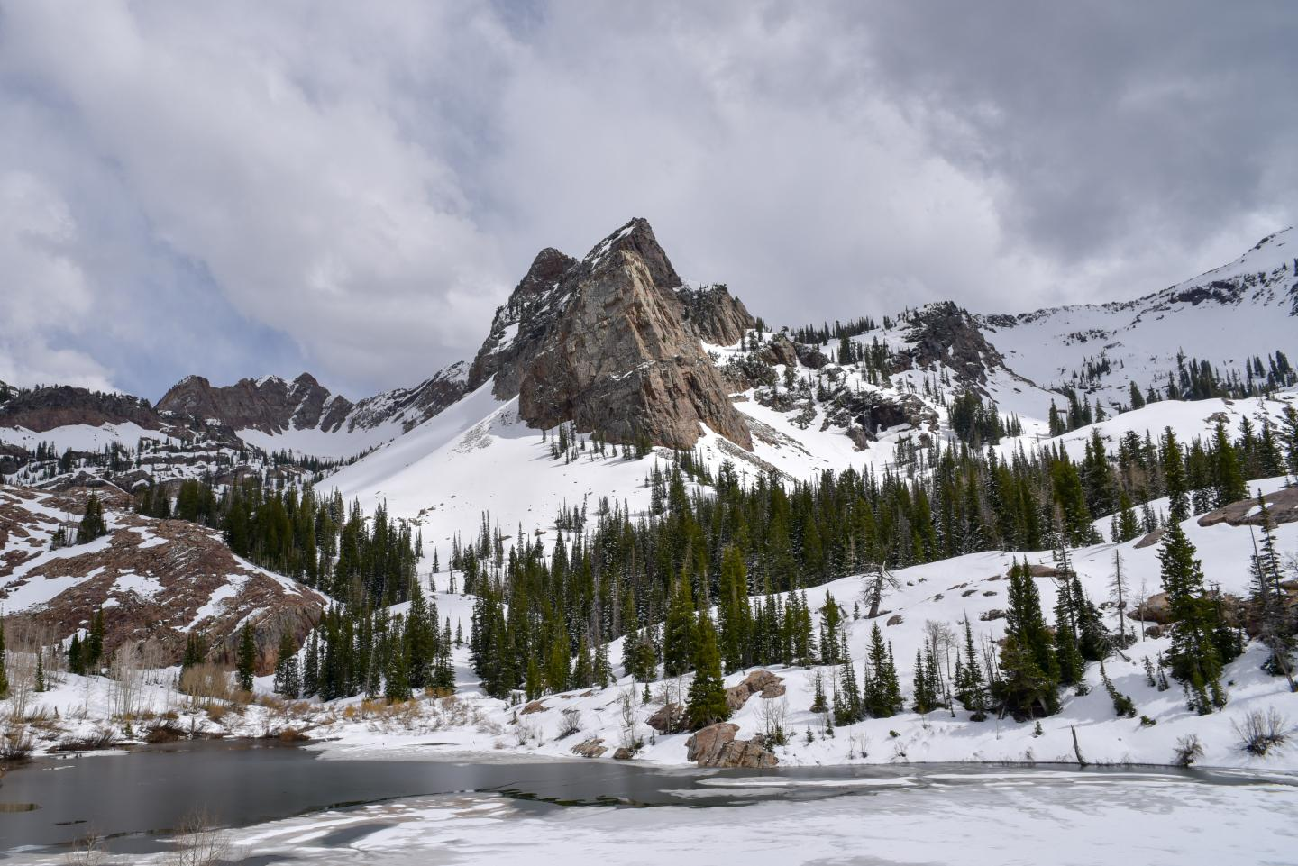 Study Suggests Less Snow And Earlier Snowmelt At Higher Elevations - Higher elevation