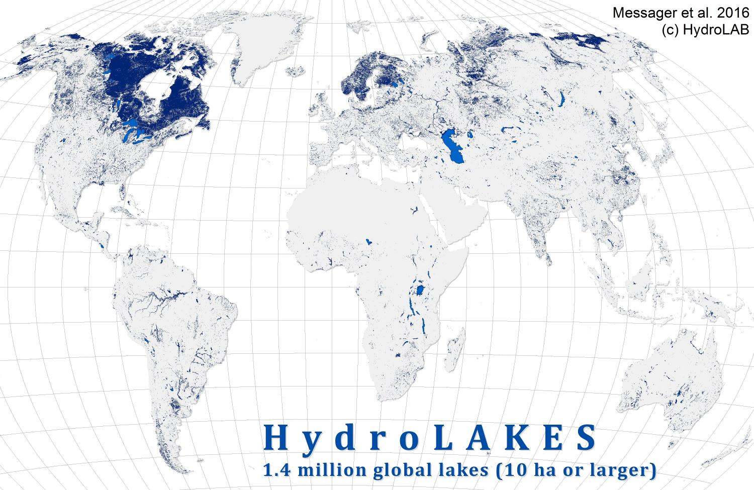 New global database will help scientists track role of lakes in